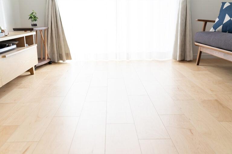 床(フロア)のクリーニング・ワックス